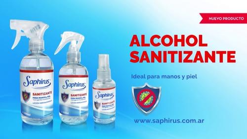 alcohol en spray sanitizante 500ml