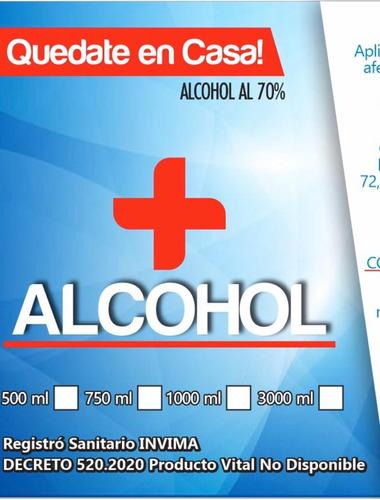alcohol  en venta