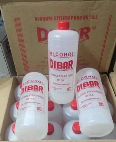 alcohol etílico 96º caja 12 litros
