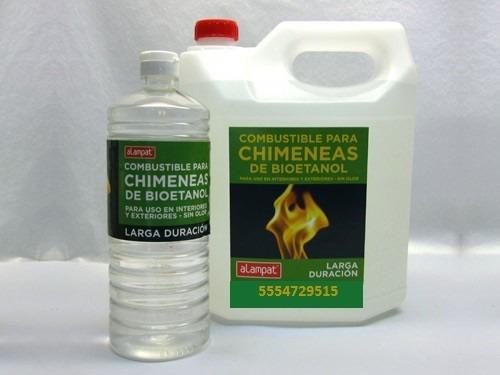 Alcohol etilico para chimenea bioetanol entrega domicilio df en mercado libre - Chimenea de alcohol ...