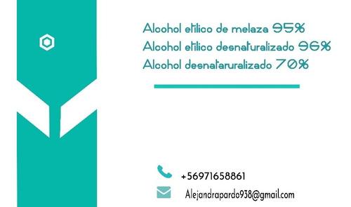 alcohol etilicos de melaza y desnaturalizado