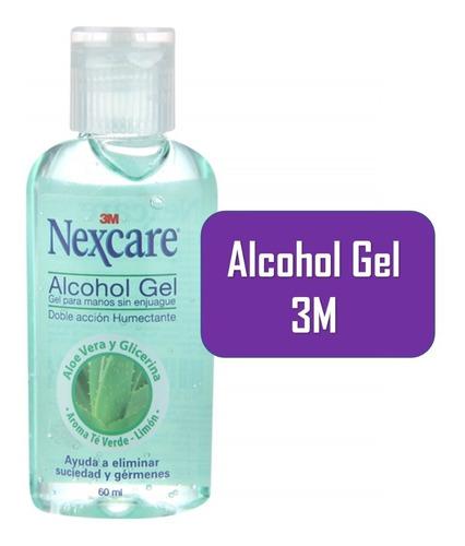 alcohol gel 3m nexcare original  desinfectante de manos
