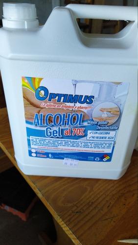 alcohol gel 5 lts  70% alcohol