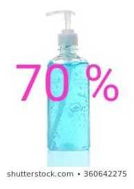 alcohol gel 70%
