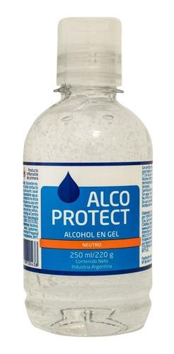 alcohol gel alcoprotect 250ml (pack 5u) barata lagolosineria