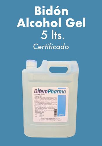 alcohol gel bidón 5 litros