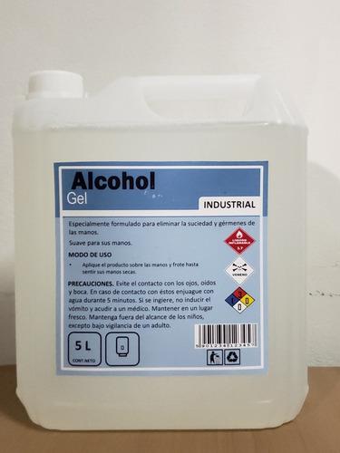 alcohol gel certificado
