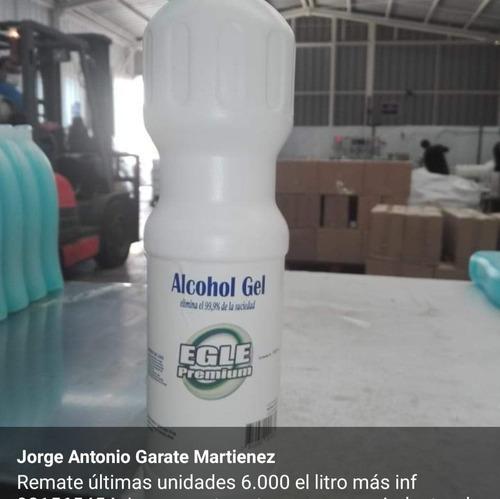 alcohol gel de 1 litro valor 6.000