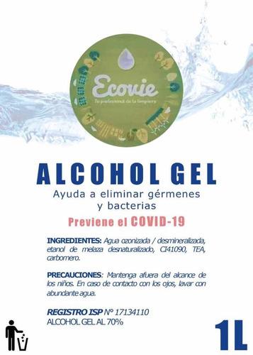 alcohol gel de litro