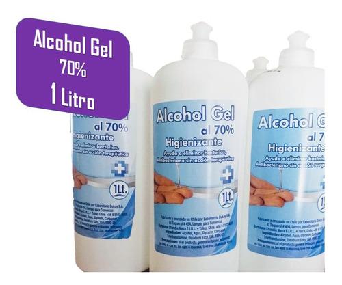 alcohol gel desinfectante antibacterial higienizante 1 litro