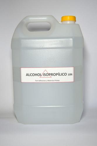 alcohol isopropilico - 10 litros - imprenta, electrónica