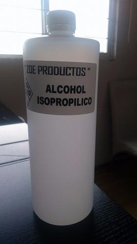 alcohol isopropílico 100% puro