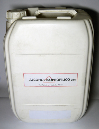 alcohol isopropilico - 20 litros - imprenta, electrónica