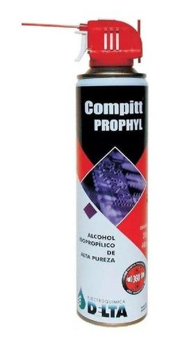 alcohol isopropílico compitt prophyl 440cc delta aerosol