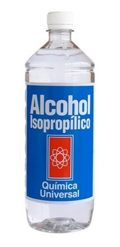 alcohol isopropilico de alta pureza triple  1 litro 99%