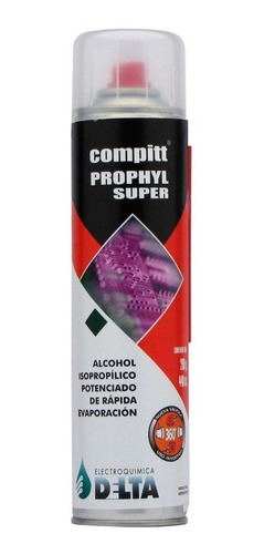 alcohol isopropilico delta compit prophyl super 440c aerosol