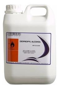 Alcohol Isopropílico Industrial X 5 L (99 ,5 %) Prion Srl