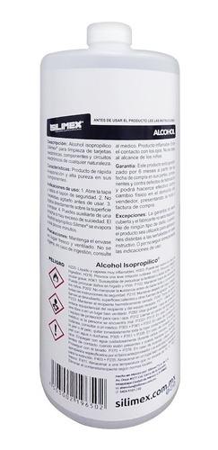 alcohol isopropilico limpieza