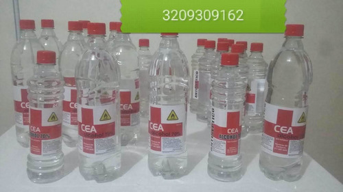 alcohol y gel antibacterial  litro a 14.000 y 8.500
