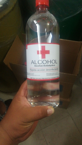 alcohol y gel antibacterial ventas por mayor
