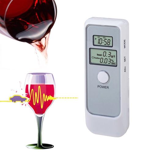 alcoholimetro digital mide nivel alcohol en sangre aliento