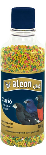 alcon club curio. ração p/ curió, bicudo, azulão, cardeal...