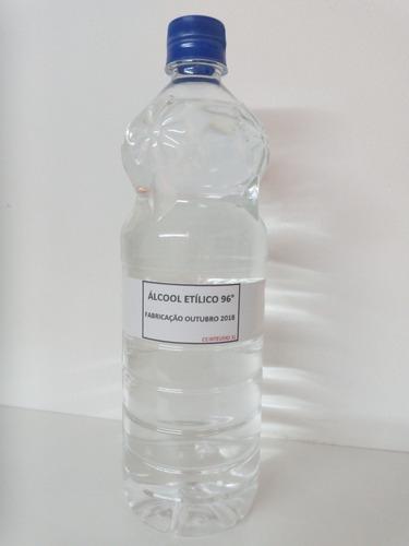 álcool etílico 96° puro (1 litro)