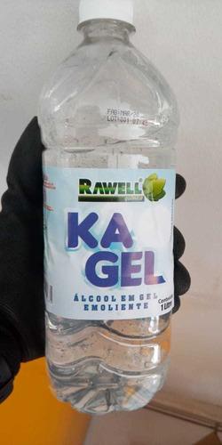 álcool gel 70% 1 litro higienizador de mãos
