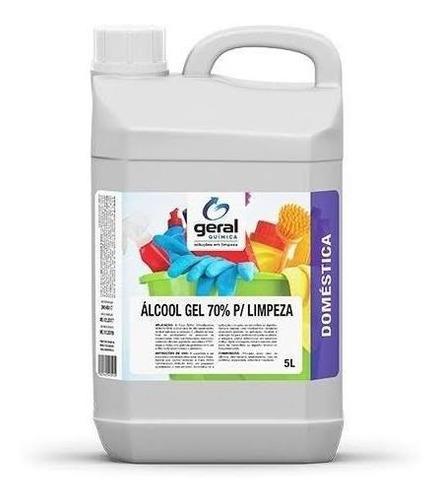 álcool gel 70 % 5 lts