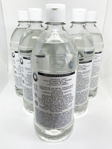 alcool isopropilico 1 litro limpa placas lava placa ecleaner