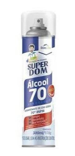 álcool spray -  super dom 300ml