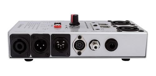 alctron db4c testador de cabos áudio speakon xlr p10 rca etc