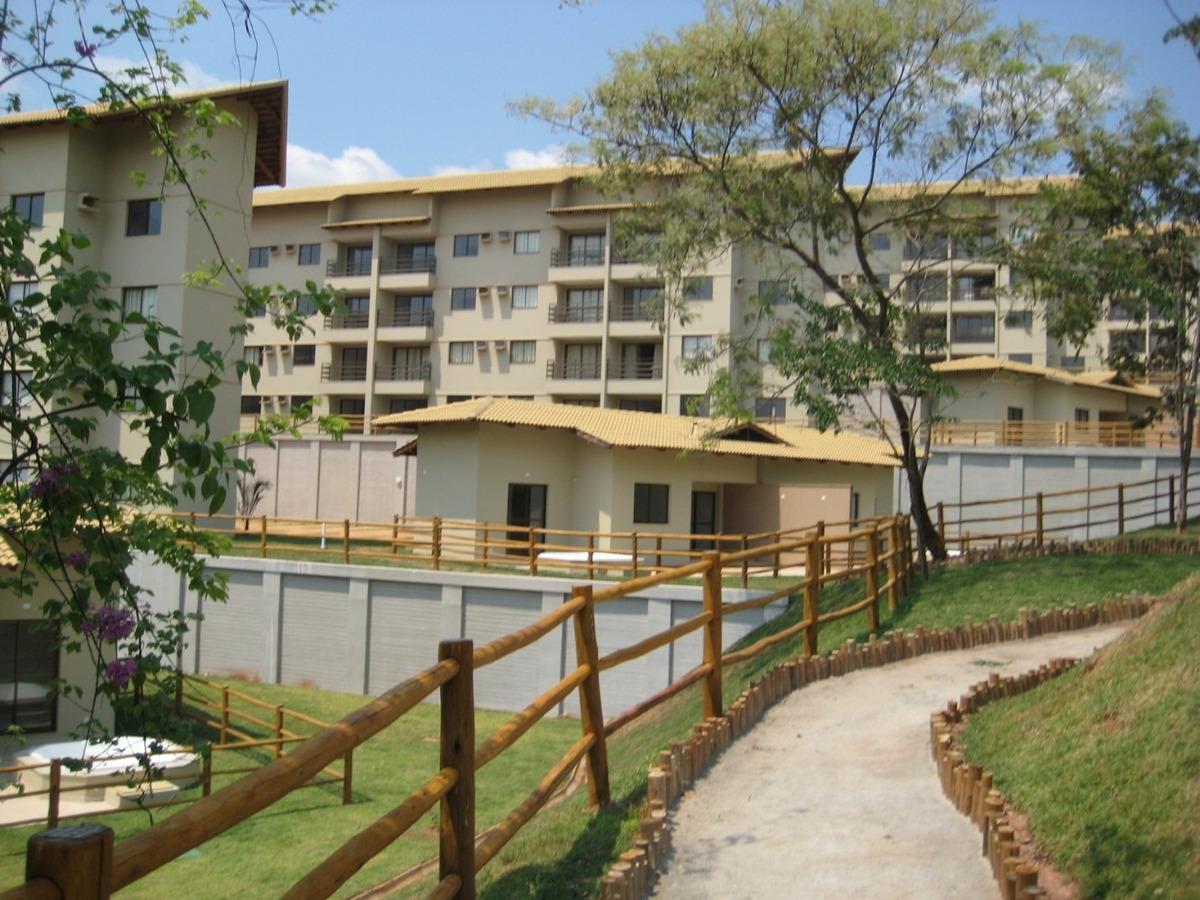 aldeias do lago - caldas novas - go - venda apartamento