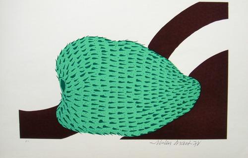 aldemir martins - jaca - serigrafia série frutas do nordeste
