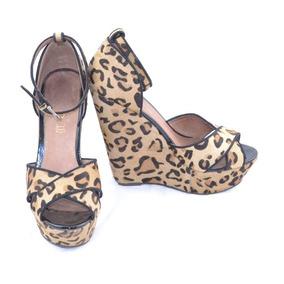 12e618fb Zapatos Plataforma Animal Print - Ropa, Bolsas y Calzado en Mercado ...