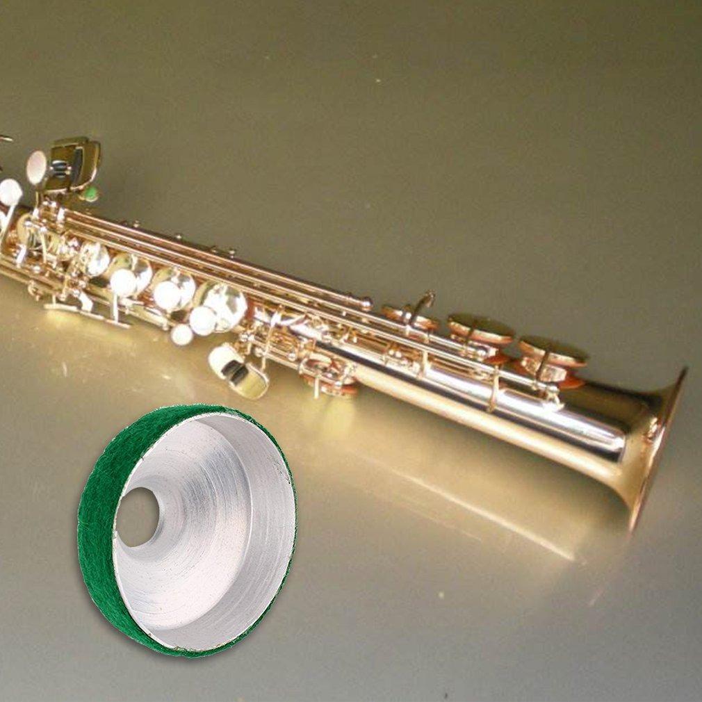 Aleaci/ón de Aluminio Tenor Saxof/ón Pr/áctica Silenciador Amortiguador Accesorio Saxof/ón Mute