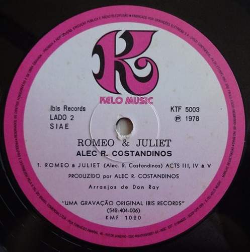 alec r. costandinos & syncophonic orchestra - romeo & juliet