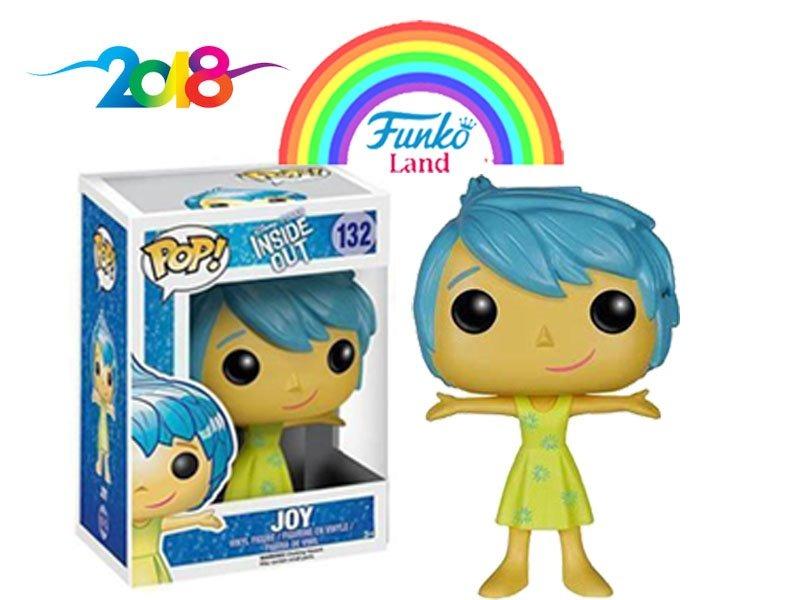 Alegria Funko Pop De La Pelicula De Disney Intensamente 44900