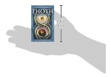 aleister crowley thoth tarot pocket.  esta en ingles