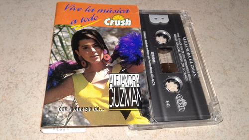 alejandra guzman cassette colección crush