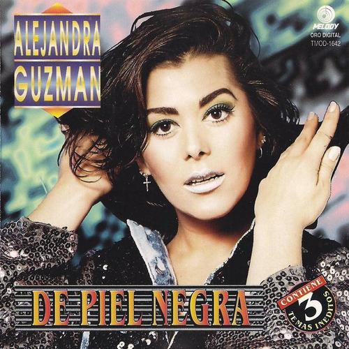alejandra guzman - de piel negra  cd  - 3 temas ineditos