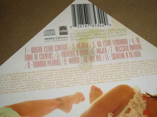 alejandra guzman indeleble 2006 sony/bmg cd