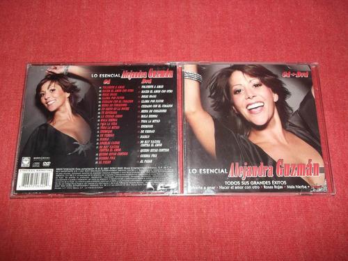 alejandra guzman - lo esencial cd + dvd nac ed 2007 mdisk