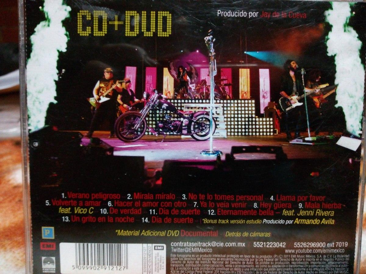 dvd de alejandra guzman y moderatto