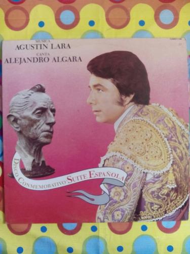 alejandro algara lp  suite española agustín lara r