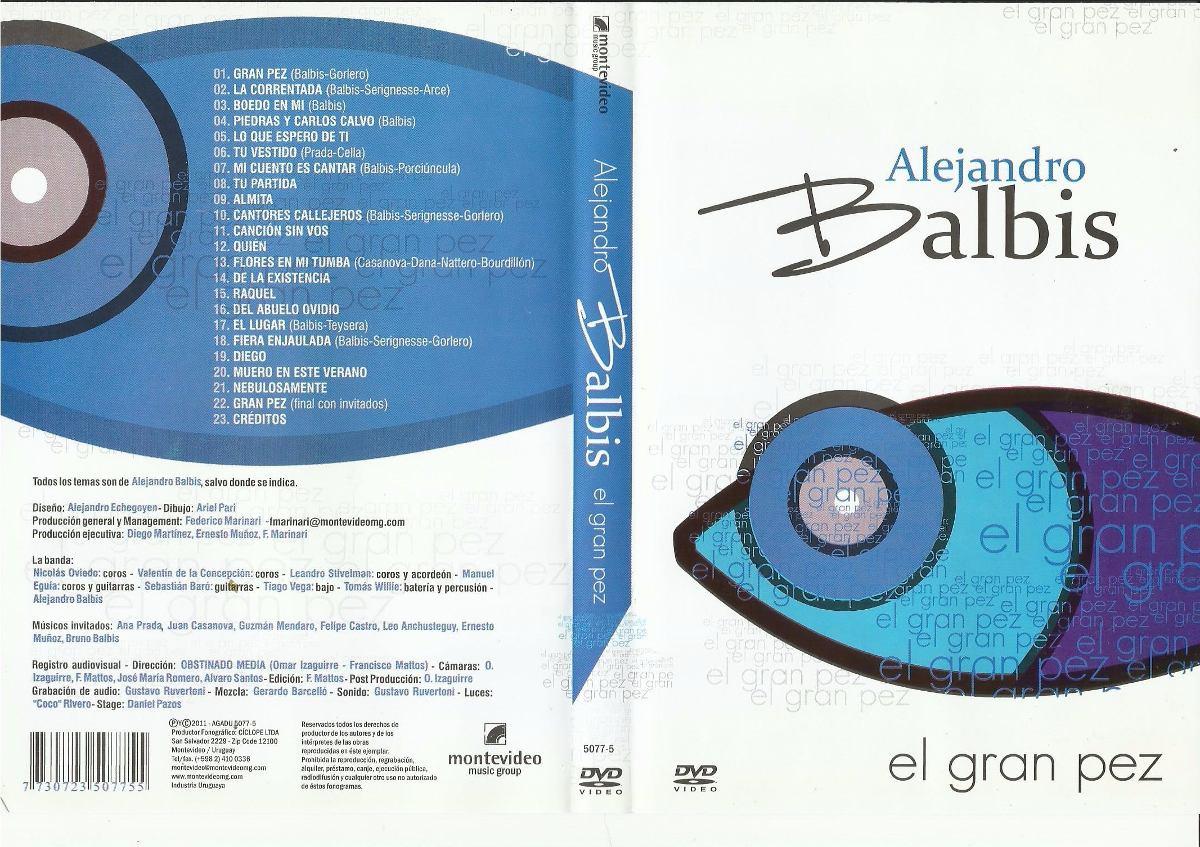 dvd el gran pez alejandro balbis