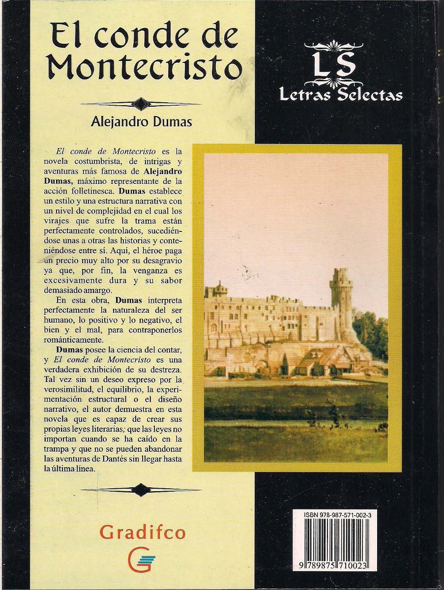 Alejandro dumas el conde de montecristo libro nuevo cargando zoom
