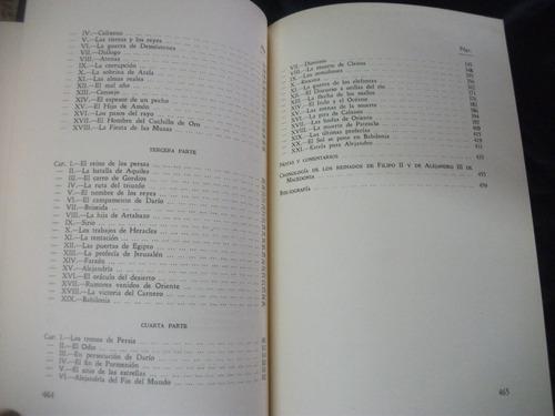 alejandro el grande / maurice druon,  1959, empastado.