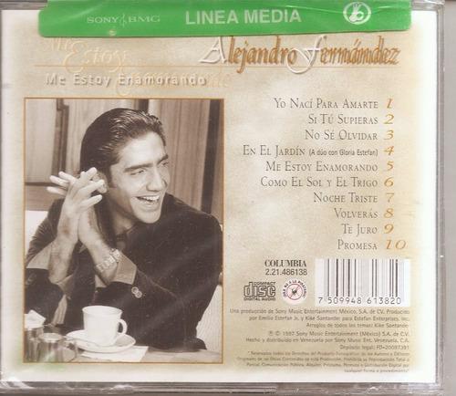 alejandro fernandez - cd   original - un tesoro musical
