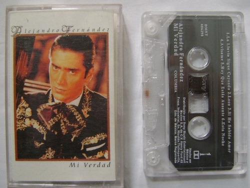 alejandro fernandez / mi verdad 1 cassette